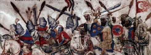 1st Crusader battle