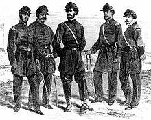 1st Louisianna officers of African desent