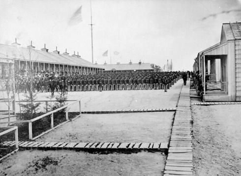 26th USCT at Rikers