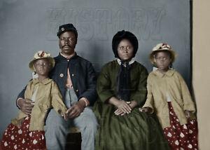 Civil War vet and family