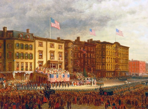Edward Lamson Henry - Presentation of the Colors to the 20th US Colored Troops