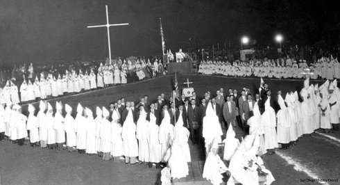 kkk and the cross 1933