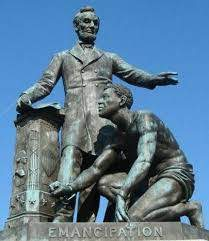 Lincoln Emancipipation Statue gives a misleading message