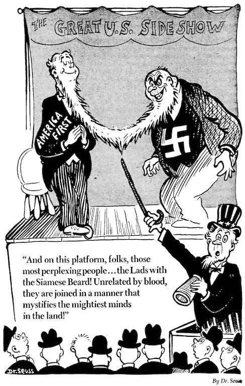 #1 America First and Nazis
