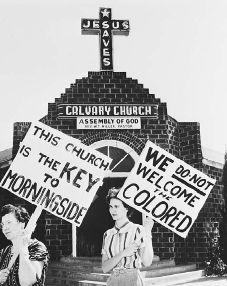 ... 1 racist hypocritical Christians