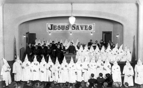 ........ 1 racist kkk jesus-saves