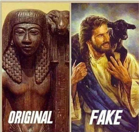 ORIGINAL AND FAKE OF JESUS