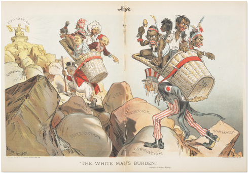 the white mans burden-_judge_1899