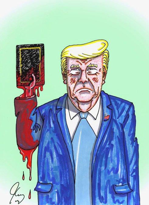 Trump blasphemer-in-chief