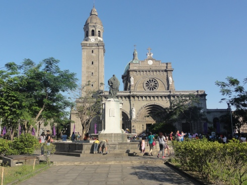 The Cathedral in_Intramuros, Manila