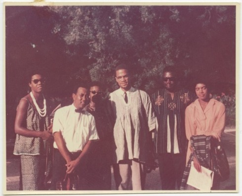 Brother Malcolm with students