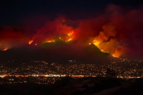Fire in California