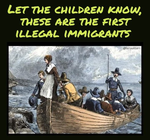 First illegal immigrants came from Europe