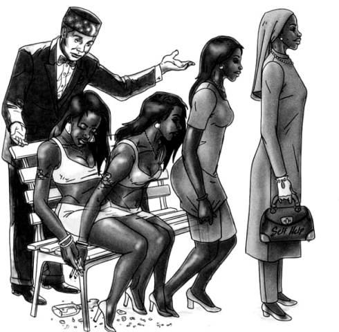 Elijah Muhammad made women-out-of-girls