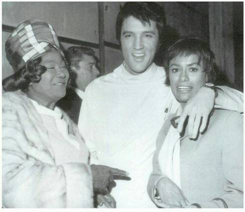 Mahalia Jackson, Elvis and Barbara McNair