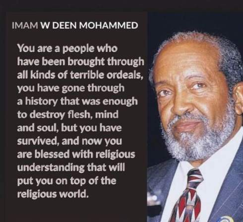 Imam Mohammed on our terrible ordeals in the USA