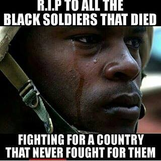 African American Soldiers fo USA