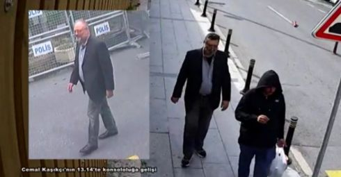 Fake khashoggi after real Khashoggi's murder