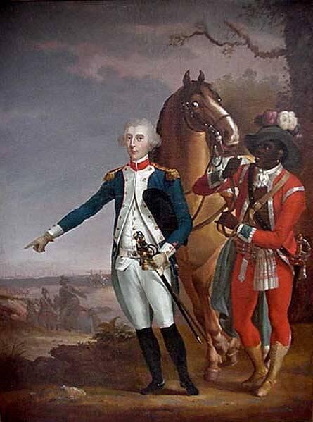 James Armistead-Lafayette-and General Lafayette