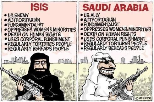Saudi and ISIS