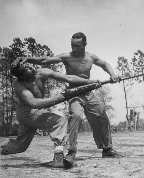 WWII marines training
