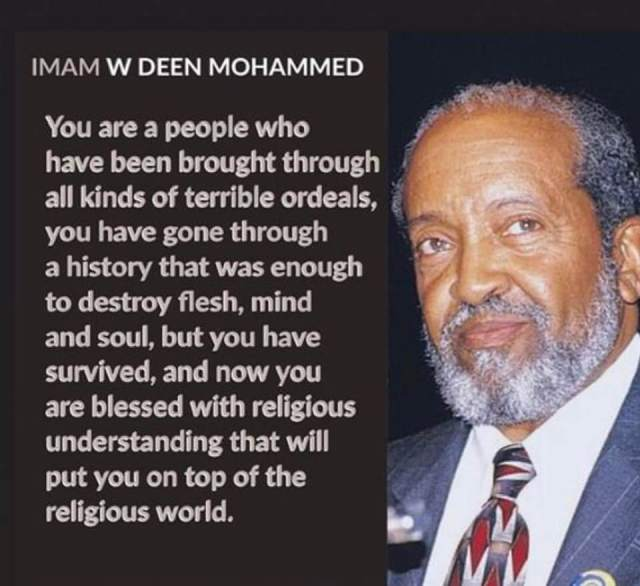 Imam Mohammed 'we have been through hell' and survived
