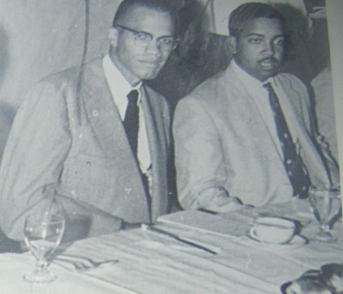 Malcolm and Warith D. Mohammed