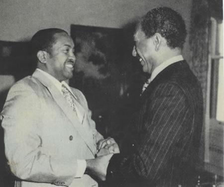 Imam Mohammed and Anwar Sadat